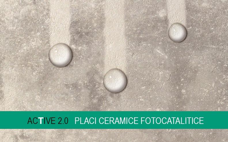 Placi ceramice fotocatalitice Active 2.0